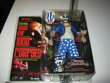 """House of a 1000 Corpses Captain Spaulding 7"""" Figure Series 1 MOC 2002 NECAScarce"""