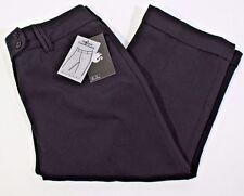 *NEW* Gloria Vanderbilt Size 12 Black Stretch Stella Tummy Panel Cropped