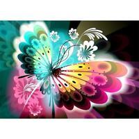 DIY Butterfly 5D Full Drill Diamond Painting Cross Stitch Kits Decor