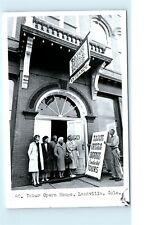 Tabor Opera House Tours Entrance Leadville Colorado CO Old Vintage Postcard C82