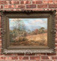 Cragsmoor Art Colony Artist Carroll Butler Brown O/C Landscape. Shawangunk Ridge
