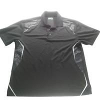 Ben Hogan Men Extra Large Golf Polo Shirt Black Short Sleeve Collared 05357