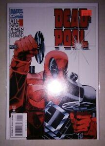 Deadpool #1 $30.00 (1994, Marvel) 9.2 NM- White X-MEN LIMITED SERIES Deadpool 3