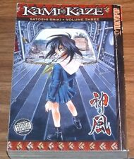 MANGA Kami-Kazi vol#3 *NFINE* SATOSHI SHIKI volume v TOKYOPOP 2006 Kamikaze
