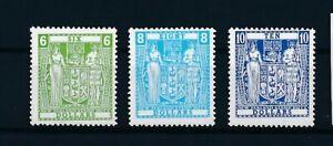 D193935 New Zealand MNH Postal Fiscal Stamps 1987 Sc. AR103a-AR105a