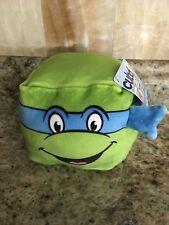 "Cubd Collectibles Mini Cloud Cube Pillow Turtle Teenage Mutant Ninja Leo 4"""