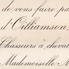 Joseph Donald D'Oilliamson 1878 Eudoxie De Mac Mahon