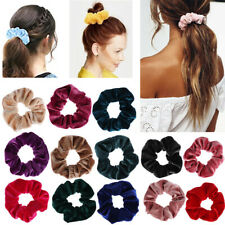Top Holder Hair Rubber Bands Hair Scrunchie Elastic Hair Ties Velvet Scrunchie