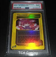 PSA 9 MINT Seer 133/147 Aquapolis Set REVERSE HOLO Pokemon Card