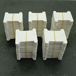 Cardboard Embroidery Thread Bobbins Floss Cards Pack of 500