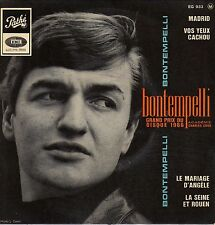 GUY BONTEMPELLI MADRID FRENCH ORIG EP BERNARD GERARD