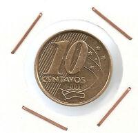 Brazil: 10 Centavos 2001 UNC