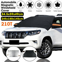 Large Magnetic Car Sun Shade Windshield Cover Frost  Snow Ice Screen for SUV