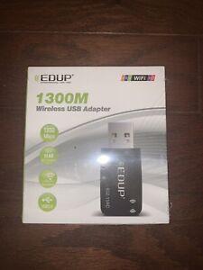 NEW Mini USB WiFi Adapter 1300Mbps