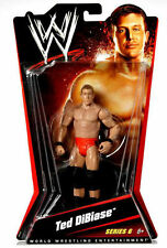 "Early serie WWE TNA lucha libre figura Ted diabasa 6"", Mattel Serie 6 Rara"