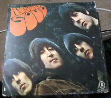 The Beatles Rubber Soul German Release Stereo Blue Odeon RARE! VG+ to VG++