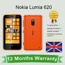 Sbloccato Nokia Lumia 620 Microsoft Windows Phone - 8GB Arancione