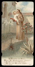 santino cromo-holy card S.ANTONIO DA PADOVA max hirmer