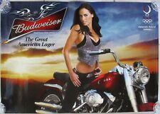 Budweiser Amanda Beard U.S. Olympic Swimming/Harley Davidson Fat Boy 2008 Poster