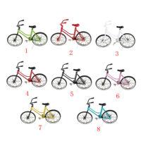 Fahrradmodell Miniatur Cityrad Citybike Figur Geldgeschenk Metall Dekoration