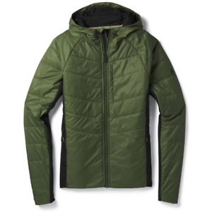 NWT MENS SMARTWOOL SMARTLOFT 60 HOODIE $220 Chive/ Green sweater 1st layer