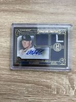 2016 Topps Certified Autograph Issue Signature Swatches DJ LeMahieu 25/25
