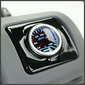 Volkswagen Golf MK5 V Air Vent Pod Gauge Holder GTI TDI VW - RHD Gloss Black ABS