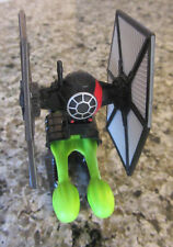 """STAR WARS HASBRO 2015  3"""" SHOOTING FIRST ORDER TIE FIGHTER.  ........g"""
