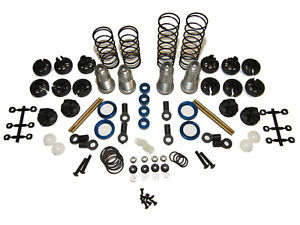 Team Associated B74.1 4wd Buggy 12mm Complete Shock Springs Shafts Pistons Kit