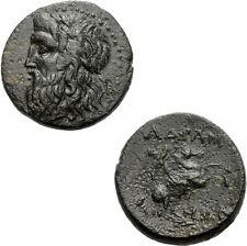 Adramytion mysien Bronzo 2. Jhd. a.C. ZEUS cavaliere adramytteion GNS V. grandezza 1050.