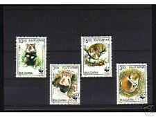 1004++BULGARIE   SERIE TIMBRES  RONGEURS
