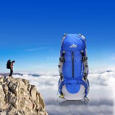 50L Waterproof Outdoor Sport Hiking Travel Camping Backpack Bag Rucksack Z3G5