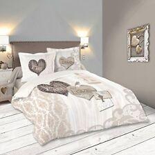 Linge de lit et ensembles à motif Cœurs en 100% coton Taille 260 cm x 260 cm