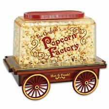 New Smart Planet Old Fashioned Pop Corn Cart With Wheels NIB