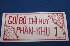 Original Vietnam War S. Vietnam Army Issued NVA-VC Surrender Leaflet