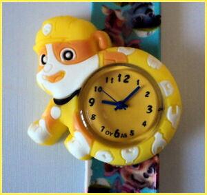PAW PATROL - Rubble -  Children's Slap Watch.  Top quality.