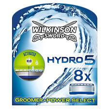 Wilkinson Sword Hydro 5 Groomer & Power Select Lames de Rasoir Pack de 8