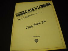 EXILE say Thank You To CLAY for KISS YOU ALL OVER 1978 Promo Display Ad mint