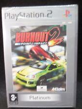 Burnout  2:Point of  impact nuevo y precintado para playstation 2
