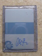 2011 Leaf Razor Poker Black Stacked Deck Printing Plate Autograph CHAD BROWN 1/1