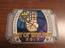2017 National Jamboree Day of Worship Patch     PkL