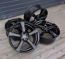 4x Felgen BORBET F2 7,5x18 ET51 5x112 Black Glossy Audi A3 VW Golf Seat Leon NEU