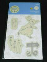 Peter Rabbit Die Set Beatrix Potter x 4 Embossing Dies - Set 2 - Egg Hunt