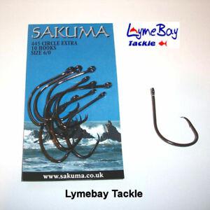 Sakuma 445 Circle Extra Hooks  - All  Sizes Available - Sea Fishing
