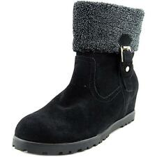 Snow, Winter Wedge Heel Solid Boots for Women