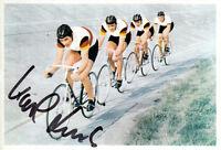 Karl Link (DEU) 1.OS Tokio 1964 Bahnrad Mannschaft original signiert/signed !!!