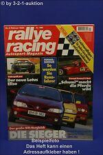 Rallye Racing 2/96 Lotus Elise BMW M3 Kelleners GTI