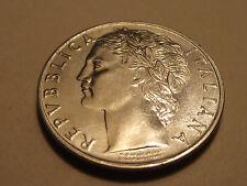 #2691 Italy; 100 Lire 1956
