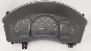 2004-2004 Nissan Titan Speedometer Instrument Cluster Gauges 24810-7s204 65944