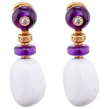 Bvlgari Sassi Pink Gold Earrings 346341